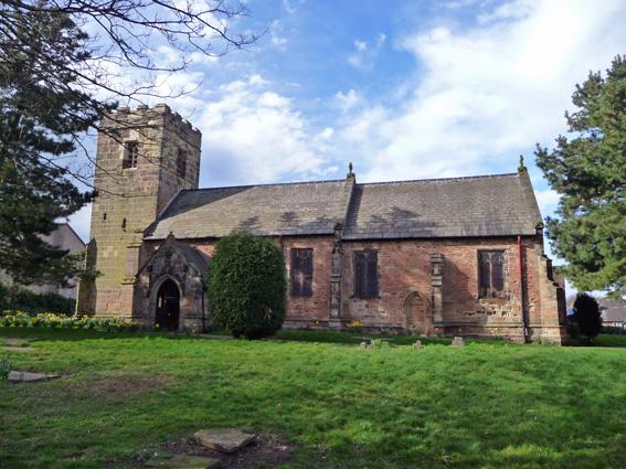 St Martin's Church, Bilborough Village.