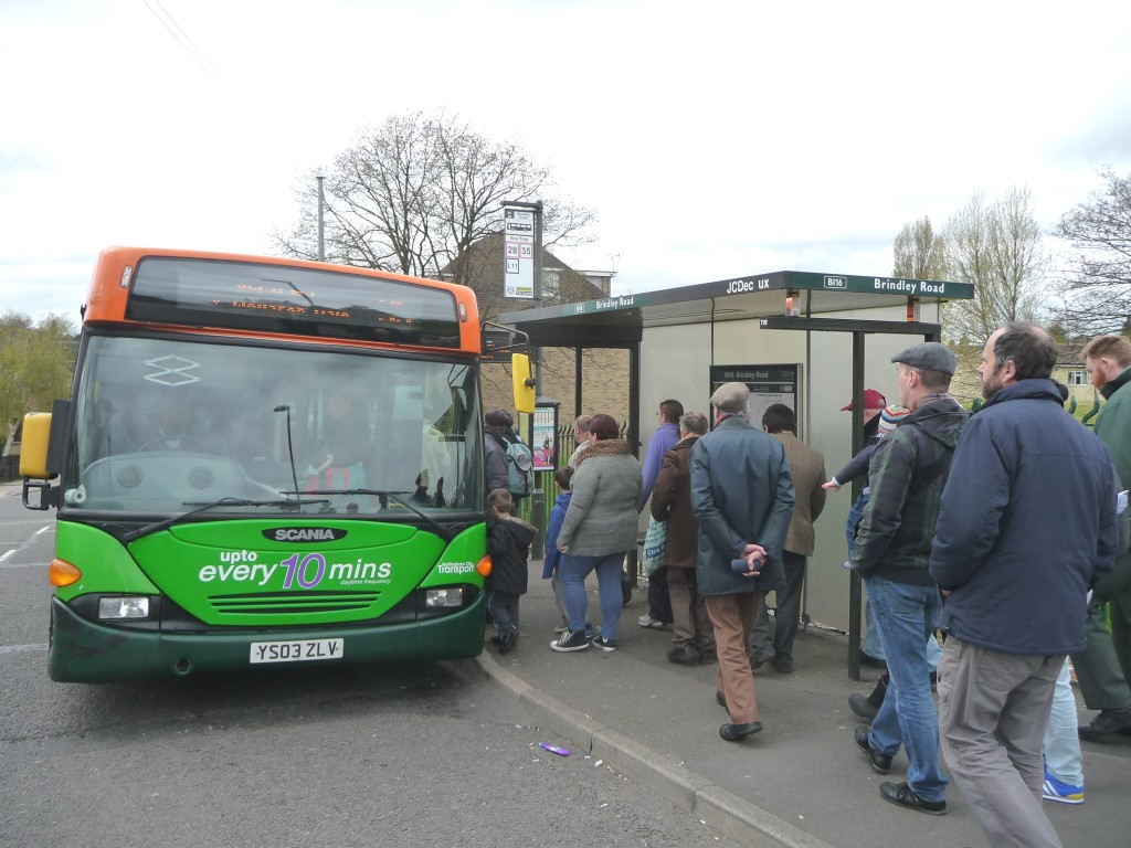 A busy 35 in Bilborough