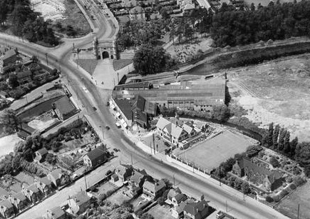 Lenton Lodge Aerial View 1937